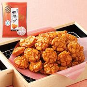 株式会社もち吉の取り扱い商品「姫揚げ ソース味 平袋」の画像