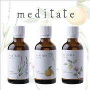 ◆自然本来の精油の香り◆meditate(メディテイト) ボディオイル