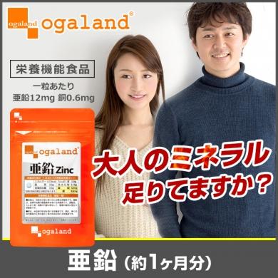 【サプリ専門店オーガランド】亜鉛