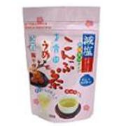 【夏のこんぶ茶・キンキンに冷やして飲むと美味しいヘルシーな『減塩梅こんぶ茶』モニター150名様大募集!】
