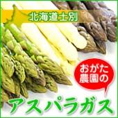 北海道産アスパラガスセット(パープル・ホワイト・グリーン)【おがた農園】
