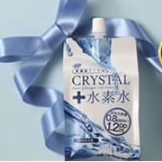 【高濃度水素水 クリスタル水素水】紫外線ダメージの蓄積が気になるお肌に!