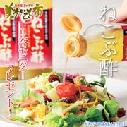 【ねこぶ酢】毎日の健康から料理まで!お料理モニター大募集♪