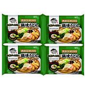 株式会社キンレイの取り扱い商品「お水がいらない 鍋焼うどん4食(袋)」の画像