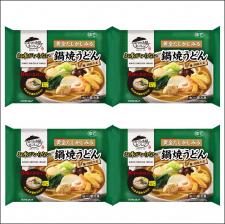 株式会社キンレイの取り扱い商品「お水がいらない 鍋焼うどん4食」の画像