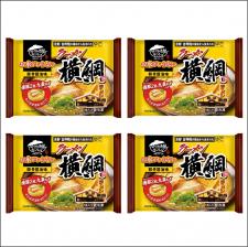 株式会社キンレイの取り扱い商品「お水がいらない ラーメン横綱4食(袋)」の画像