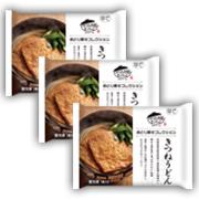株式会社キンレイの取り扱い商品「おとり寄せコレクションきつねうどん3食(袋)」の画像
