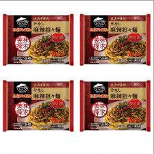 株式会社キンレイの取り扱い商品「お水がいらない 汁なし麻辣担々麺4食(袋)」の画像