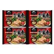 株式会社キンレイの取り扱い商品「お水がいらない 横浜家系ラーメン4食(袋)」の画像