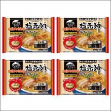 株式会社キンレイの取り扱い商品「お水がいらない 塩元帥 塩ラーメン4食(袋)」の画像