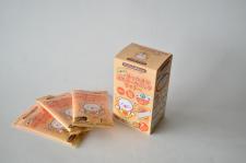 日本グリーンパックス株式会社の取り扱い商品「ナチュラムーン くまこのぽっかぽか温めオーガニックライナー」の画像