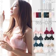 公式下着通販 fran de lingerie(フランデランジェリー)の取り扱い商品「『エモーショナル』コーディネートブラジャー【BCDカップ】」の画像