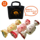 イベント「【通信販売限定】ハロウィンプチチョコワッフル3種(ミニトートバッグ付)プレゼント」の画像