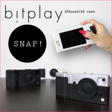 iPhone4/4Sをデジカメ風にできちゃうお洒落なケース「SNAP!」