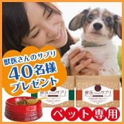 【ブログなしOK★現品プレゼント】愛犬の健康サプリ【お写真+感想モニター40名】