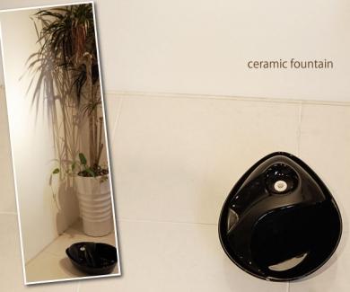 ペット用自動給水器セラミックファウンテン