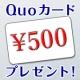 イベント「【QUOカード500円】コレステロールに関するアンケートに答えるだけ!(女性)」の画像