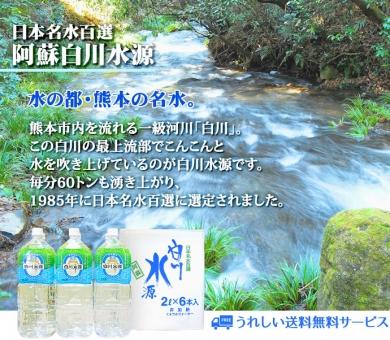 日本名水百選 阿蘇白川水源