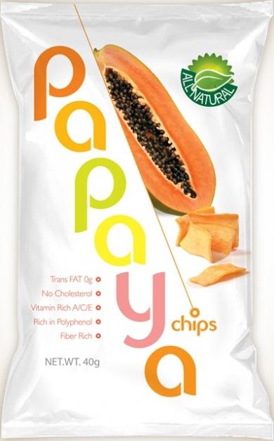 パパイヤチップス