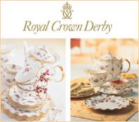英国王室御用達のブランド 「ロイヤルクラウンダービー」公式サイト