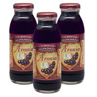 ポリフェノールをブルーベリーの5倍含有するアロニア果汁