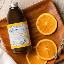 株式会社Cureの取り扱い商品「Cureバスタイム フレッシュオレンジの香り ヒマラヤ岩塩バスソルト 入浴剤」の画像