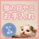 【猫モデル大募集】猫の目ヤニに悩む飼い主さん必見!マイナスイオン水で簡単お手入れ