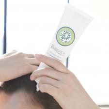 アンドシーム株式会社の取り扱い商品「ホットクレンジングで頭皮のニオイ汚れしっかりOFF【ピュアリス】」の画像