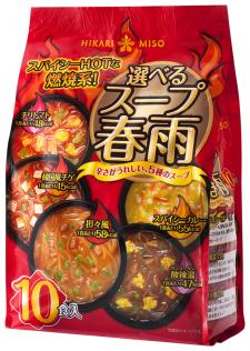 ひかり味噌株式会社の取り扱い商品「選べるスープ春雨 スパイシーHOT」の画像