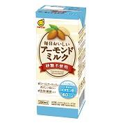 マルサンアイ株式会社の取り扱い商品「毎日おいしいアーモンドミルク」の画像
