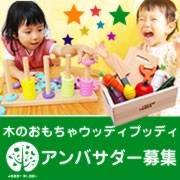 「「木のおもちゃウッディプッディ」 ブランドアンバサダー募集!」の画像、木のおもちゃおままごと ウッディプッディのモニター・サンプル企画