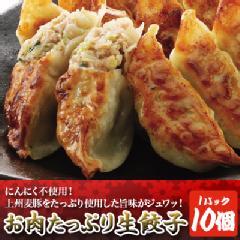 上州麦豚のお肉たっぷり生餃子 10個入り | 餃子工房RON
