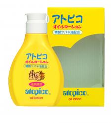 大島椿株式会社の取り扱い商品「アトピコ オイルローション」の画像