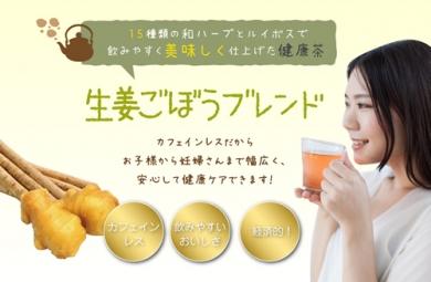 生姜&ゴボウブレンド 16種類のブレンド健康茶