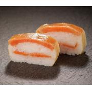 顔出しインスタ動画募集!!国産サーモンを使用する洋風押し寿司を3名様に!