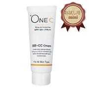 株式会社セレブの取り扱い商品「+OneC(プラワンシー) BB+CCクリーム(ファンデーション)ミニサイズ」の画像