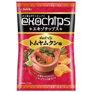 株式会社湖池屋の取り扱い商品「エキゾチップス トムヤムクン味」の画像