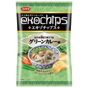 株式会社湖池屋の取り扱い商品「エキゾチップス グリーンカレー味」の画像