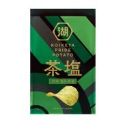 株式会社湖池屋の取り扱い商品「KOIKEYA PRIDE POTATO 芳醇 重ね茶塩」の画像