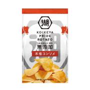 株式会社湖池屋の取り扱い商品「KOIKEYA PRIDE POTATO 本格コンソメ」の画像
