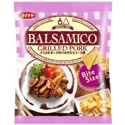 株式会社フレンテ(湖池屋)の取り扱い商品「トルティアチップス グリルドポークのバルサミコソース味」の画像