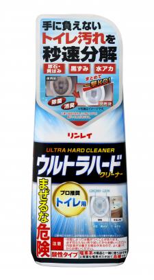 株式会社リンレイの取り扱い商品「ウルトラハードクリーナー トイレ用」の画像