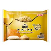 株式会社明治の取り扱い商品「明治濃厚チーズリゾット」の画像