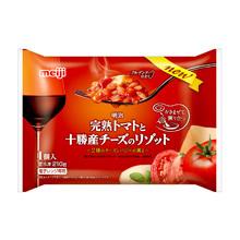 株式会社明治の取り扱い商品「明治 完熟トマトと十勝産チーズのリゾット」の画像