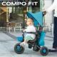 《2名》【モニター募集】ライフスタイル三輪車、コンポフィットでみんなでお散歩♪/モニター・サンプル企画