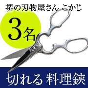 株式会社福井の取り扱い商品「ダイヤウッド オールステン キッチンハサミ」の画像