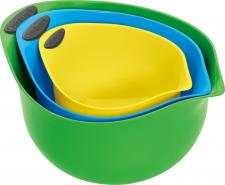 コンエアージャパン合同会社の取り扱い商品「ミキシングボウル マルチカラー3色セット」の画像