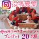 イベント「Instagram募集 母の日ケーキオーナメントプレゼント20名様」の画像