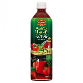 デルモンテ リコピンリッチベジタブル 野菜飲料の商品画像