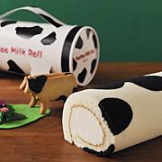 生クリームたっぷり♪牛柄が人気の「モーモーミルクロール」の商品画像